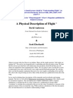 A Physical Description of Flight