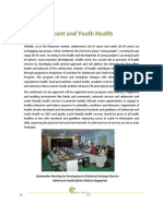Adolescent and Youth Health