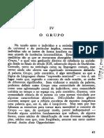 Horkheimer, M & Adorno, T - O Grupo. in Temas Básicos Da Sociologia