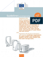 Guidelines Space Water Heaters