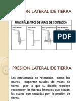 02. Presion Lateral de Tierra (Completo Con Ejercicios)