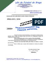 CO N.º 2 FUTEBOL 7_CAMPEONATO  DISTRITAL DE TRAQUINAS_FICHA DE PARTICIPAÇÃO