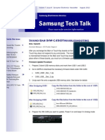 Samsung CE Newsletter August 2012