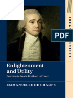 (Ideas in Context) Emmanuelle de Champs-Enlightenment and Utility_ Bentham in French, Bentham in France-Cambridge University Press (2015)