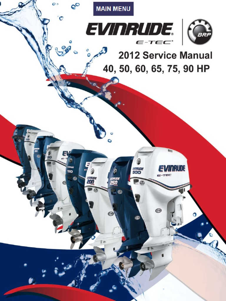 evinrude manuals free pdf