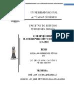 Sintesis de Texto Tenorio
