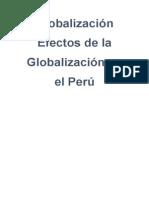 GLOBALIZACIÓN - MONOGRAFIA