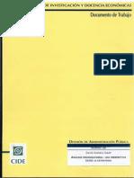 Analis Organizacional- Una Perspectiva Desde La Estructura