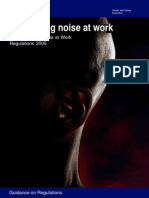 HSE - Guide to Controlling Noise at Work
