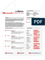 Curriculum Diseñador Grafico