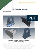 Modelagem da Base do Mancal - Versão Melhorada