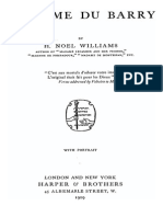 Madame Du Barry - Noel Williams 1909