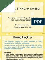 Pengendalian Mutu-Codex Standar Danbo