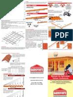 Manual de Aplicacao de Telhas Ceramicas