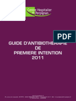 Guide Antibiotherapie 2011 Smit Chp