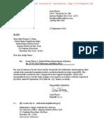 2015-09-23 Flores v USDOJ - Amended Complaint (FOIA Lawsuit) (Blackline)(Stamped)