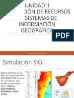 4. Simulación Sig - Isotermas - Isoyetas - Balance Hidrico