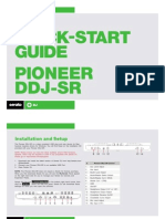 Pioneer DDJ-SR Quickstart Guide