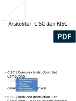 Arsitektur CISC Dan RISC