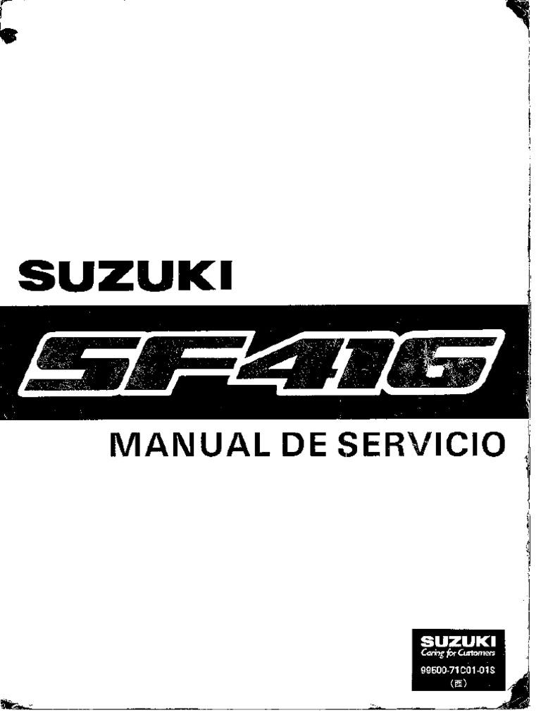 Manual Suzuki Swift