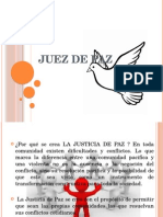 Presentacion Juez de Paz