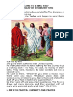 Refletion XV Sunday of Ordinary Time July 13 2015