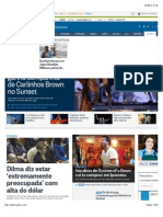 Jornal O Globo | Notícias Online