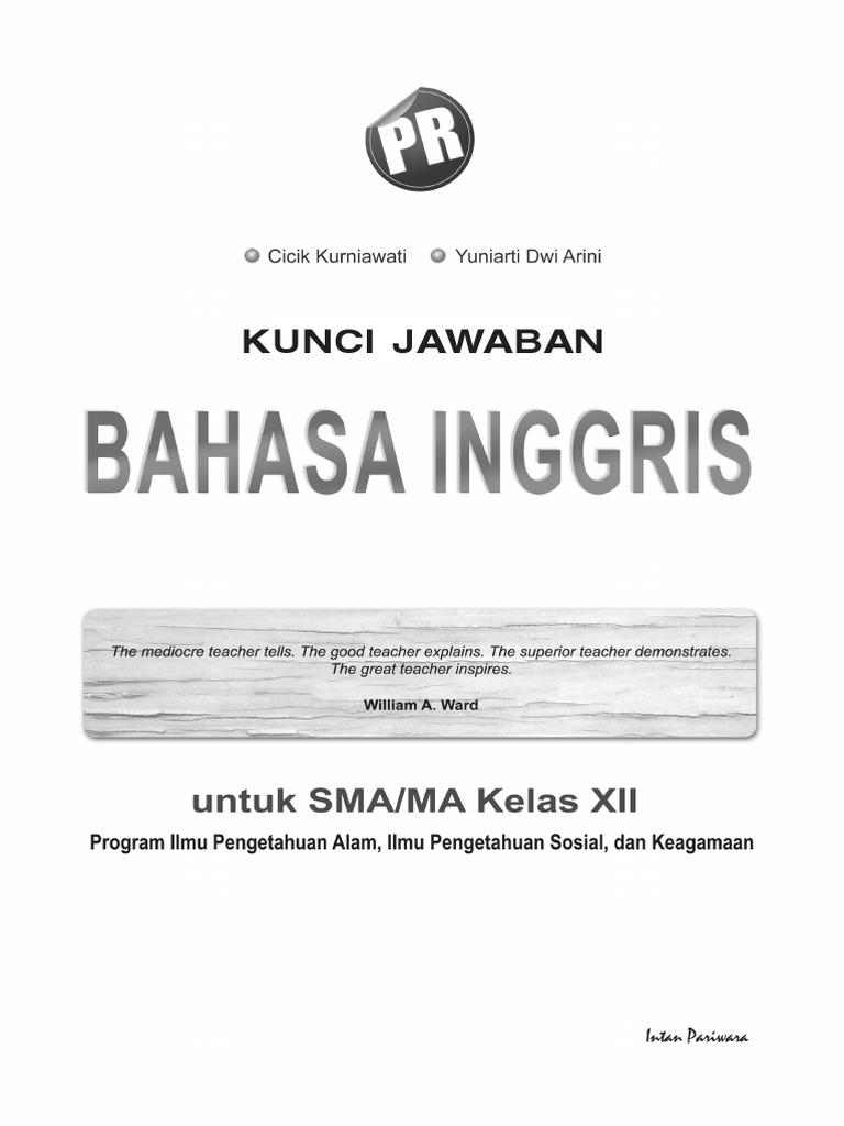 Kunci Jawabanpr Inggris 122013pdf Narrative Computing And