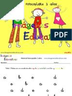 Cuadernillo 40 Actividades Eduación Preescolar 3 Años 2