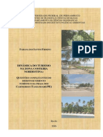 QUESTOES  CONFILITANTES  DO DESENVOLVIMENTO  TURISTICO NA PRAIA DOS CARNEIROS...