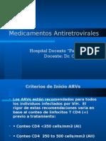 Medicamentos Antiretrovirales Padre Billini 2012