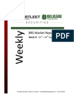 BRS Weekly Market Report - 25.09.2015