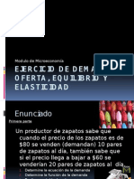 Ejercicio de Demanda, Oferta, Equilibrio y (1)