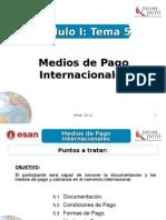 Modulo I - Tema 5 - Medios de Pago