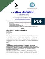 Festival de Cine Antartico 2015