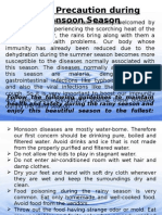 Safety Tips During Monsoon