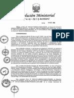 R.M. 448-2015-MINEDU