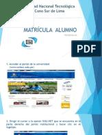 Matric Ula Online Un Tecs