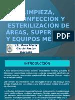 Limpieza, Desinfección y Esterilización