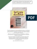 Müller Et Al. Epilepsy & Behavior 2009