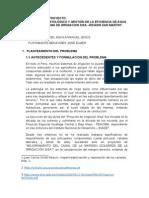 Estudio Patológico y Gestión de La Eficiencia de Agua Del Sistema de Irrigacion Sisa –Region San Martin