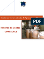 Boletim de Comercializacao 2000 2012
