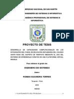 Saavedra Torres Roman Proyecto de Tesis