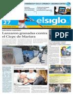 Edicion Impresa El Siglo 27-09-2015