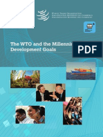 World Trade Organization and It's Millennium Development Goals