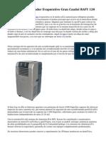 PURLINE Climatizador Evaporativo Gran Caudal RAFY 120