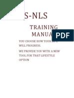 Lris-nls Training Manual