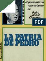 La Patria de Pedro El Pensamiento Nicaraguense de Pedro Joaquin Chamorro (1)