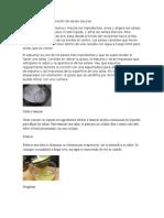 Técnicas Para La Elaboración de Salsas Oscuras