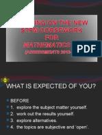 COURSEWORK MATHS T - 2013-14 (for teachers).ppt